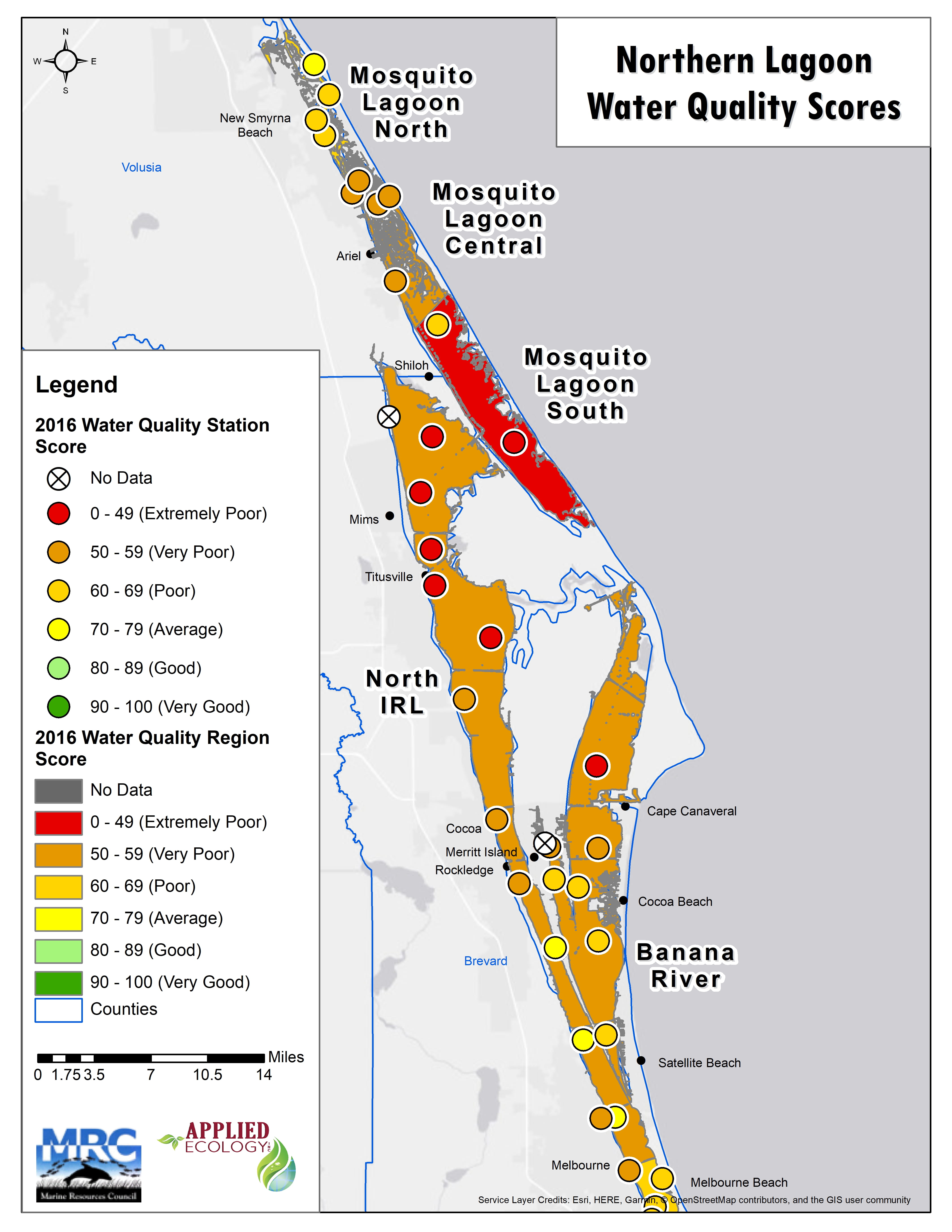 Lagoon-Wide Health Assessment | Applied Ecology Inc